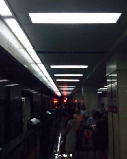 地铁站内情况