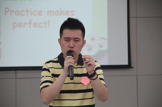 南京致远外国语小学开展英语教师技能比赛