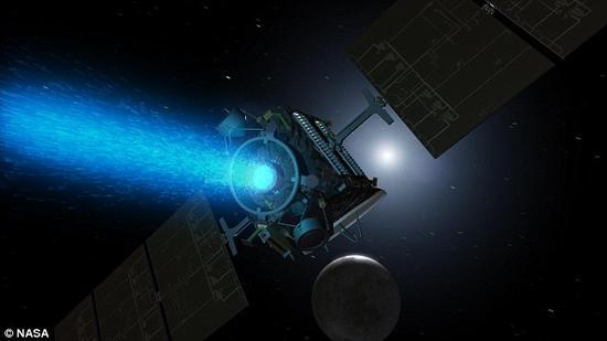 """""""黎明""""号飞船于2015年3月6日抵达谷神星上空。"""