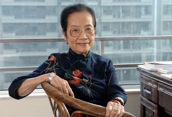 百岁老人叶曼女士