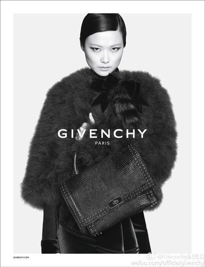 李宇春拍摄Givenchy2015全球广告片