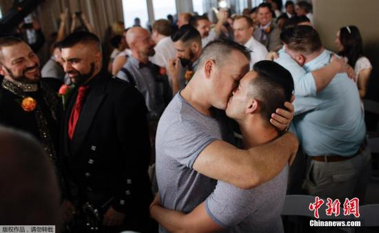 美国同性婚姻合法化