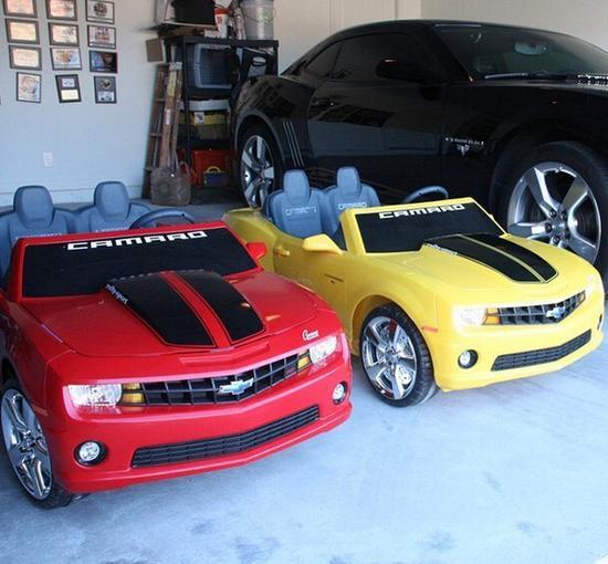 儿童可充电跑车
