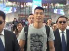 林书豪抵京开启中国行 粉丝机场迎接追偶像