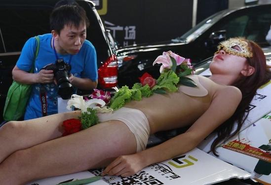 女体寿司宴