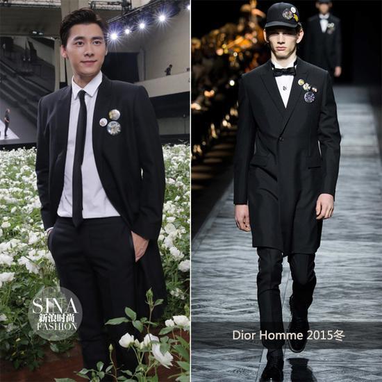 李易峰助阵Dior Homme秀场