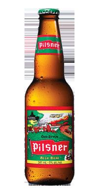 皮尔森啤酒相对清淡,要有标志性的苦味,酒精度一般只有4.5%-5%