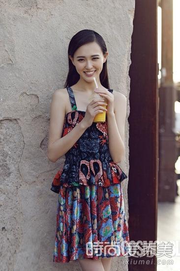 吊带连衣裙造型