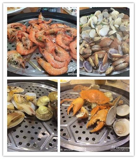 新亚海鲜蒸汽锅