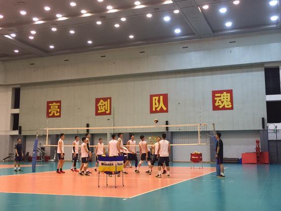 中国男排即将出征