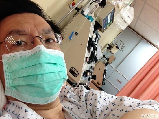 李开复治疗肿瘤近两年
