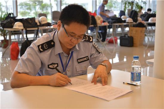 2015年全省安全生产综合执法演练竞赛在锡举行