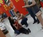 超市美女主管被小偷割喉