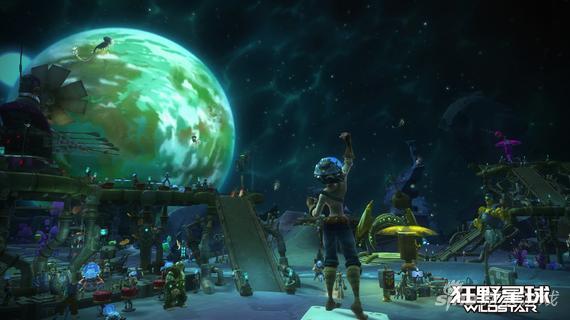 网络游戏 正文页    《狂野星球》是以nexus行星为背景,结合大量动作