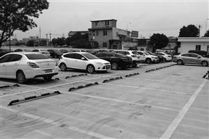 6月30日下午2点多,宁波轨道交通望春P+R停车场内有大量空余车位