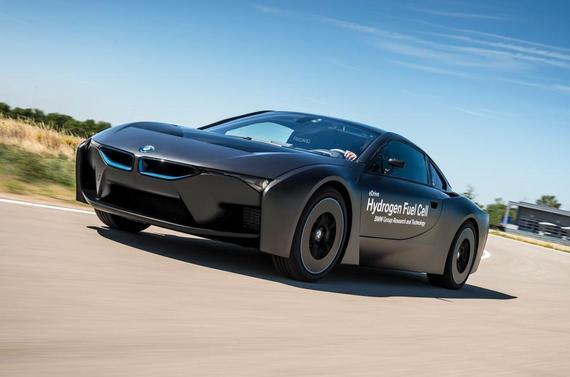 宝马发布i8氢燃料电池版研究用车