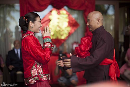 张雨绮王全安2013年景婚两周年举办婚礼(材料图)
