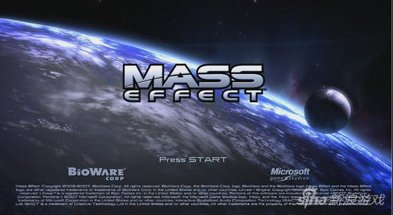 《质量效应》游戏界面