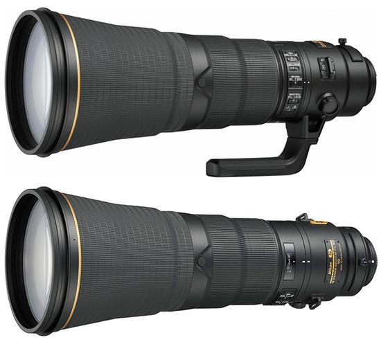 AF-S尼克尔600mm f/4E FL ED VR镜头