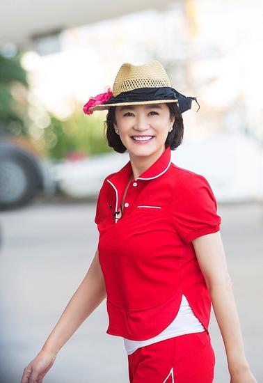 林青霞的红色运动装