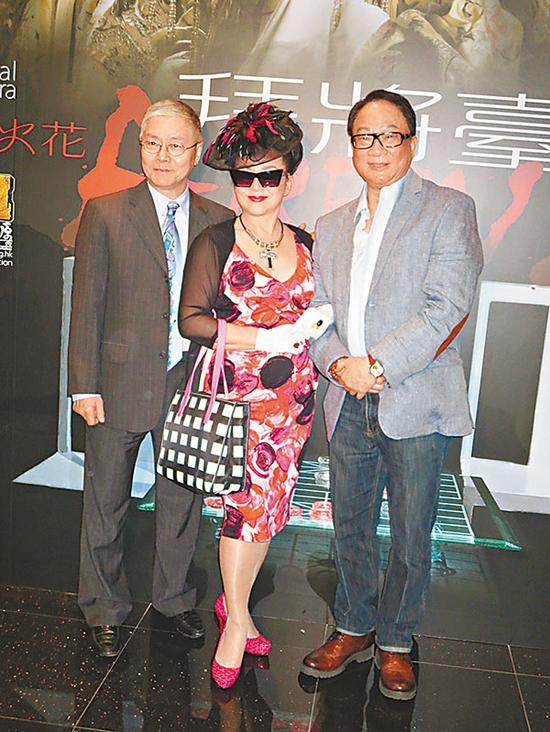 冯宝宝觉得能与阮兆辉和徐小明合作,机会难得。