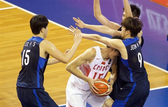 U19世青赛-中国23分完败韩国 胡金秋10+9