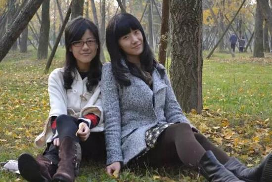 西南财大美女双胞胎学霸