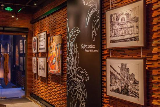 在深圳星巴克臻选艺廊 充满艺术灵感的空间