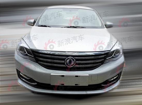 东风风神A60改款车型曝光 新增1.4T发动机高清图片
