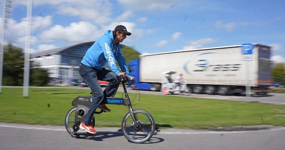 无链条单车亮相 超轻车身可减少动力损失图片