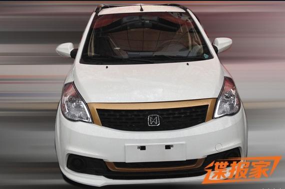 江铃E100电动车最新谍照 或年内推出高清图片