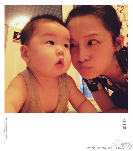 李沁和小申宝