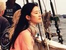 刘亦菲船上看海长发飘
