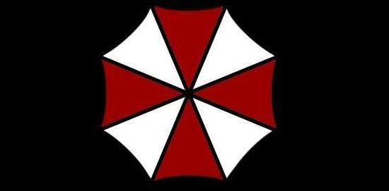 《生化危机》系列中雨伞公司的logo