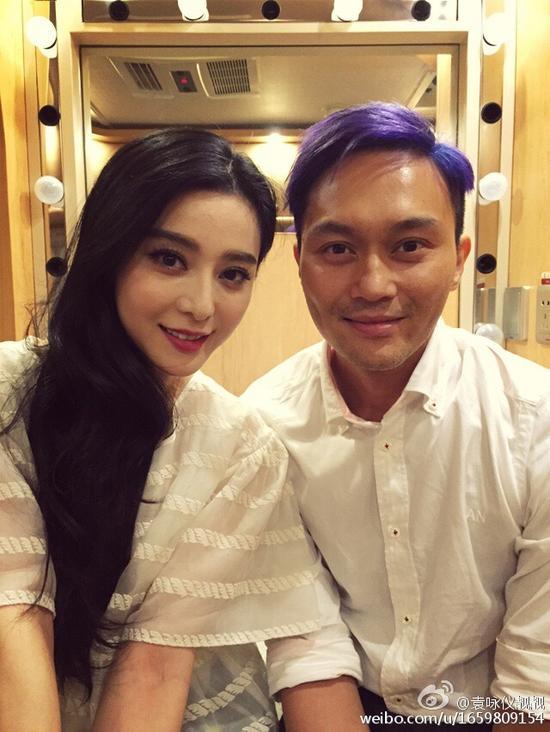 张智霖的紫发也是没sei了…