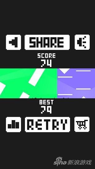 《跳动的方块(.PXL)》游戏截图