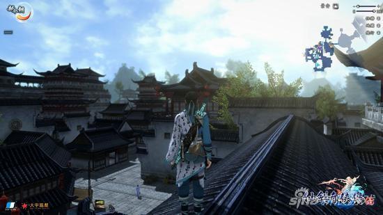 场景加上可随时光流逝而变化光影昼夜系统添增了游戏画面的生动自然