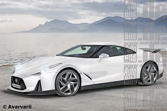 新一代尼桑GT-R2018