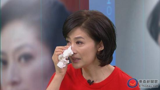 金钟奖视后刘瑞琪谈旧事落泪