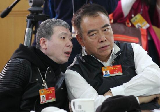 冯小刚陈凯歌(资料图)