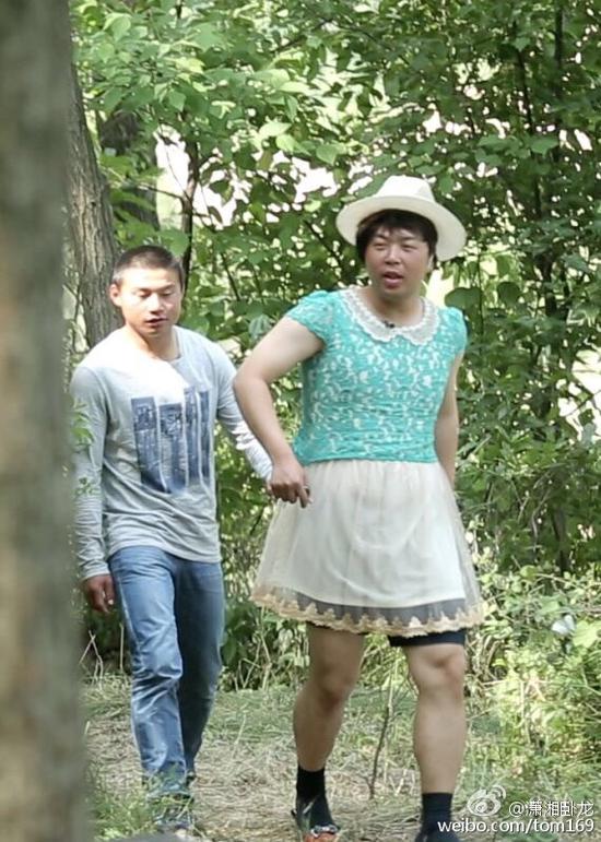 杜海涛有胸有腿