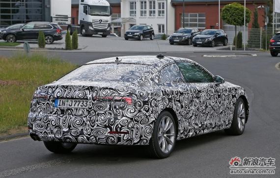 Audi A5 Coupe spy 03