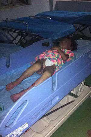 女童被发现时已经死亡