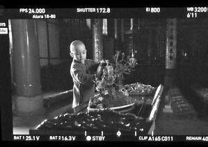 张子鹏在《道士下山》中的剧照。