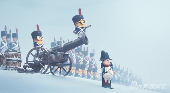 拿破仑中标(这是在黑皇帝的身高吗?)