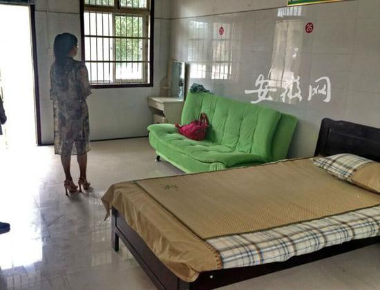 位于亳州市救助站的庇护所已空置许久。