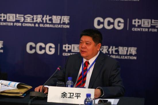 中国中车公司副总裁余卫平