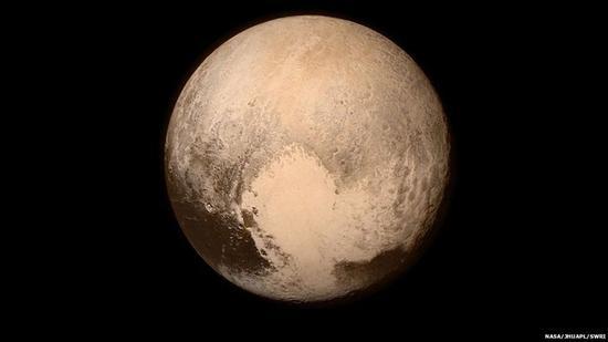截至目前位置清晰度最高的冥王星图像