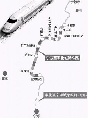 宁波至奉化城际铁路进入地质初勘阶段