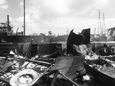 违规兴建的油脂厂基本被拆完毕
